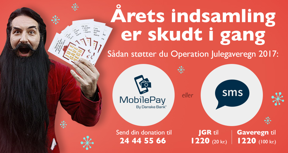 Støt Operation Julegaveregn!